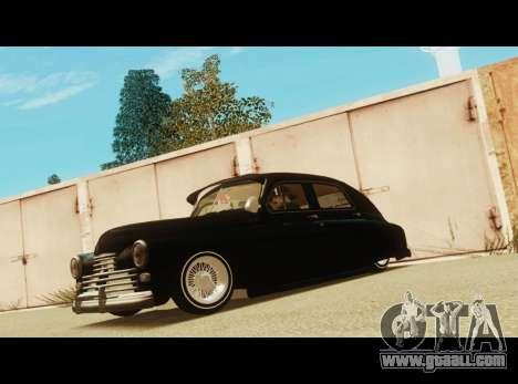 Gas M20 La Bomba for GTA San Andreas