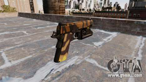 Semi-automatic pistol Kimber Fall Camos for GTA 4 second screenshot