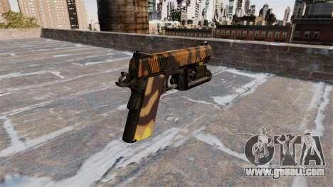 Semi-automatic pistol Kimber Fall Camos for GTA 4 second screenshot
