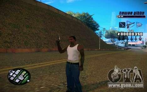 C-HUD Tawer Gitto for GTA San Andreas third screenshot