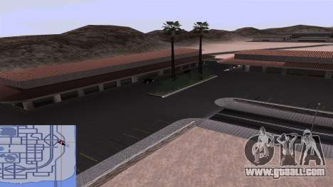 New textures railway Station in Las Venturas for GTA San Andreas sixth screenshot