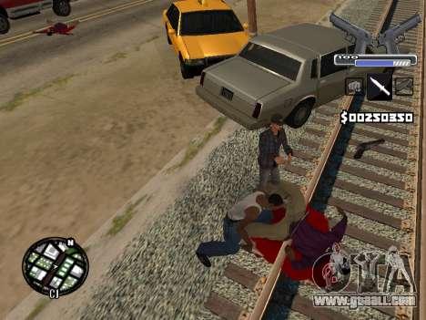 C-HUD Deagle for GTA San Andreas sixth screenshot