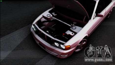Toyota Chaser Tourer V for GTA San Andreas engine