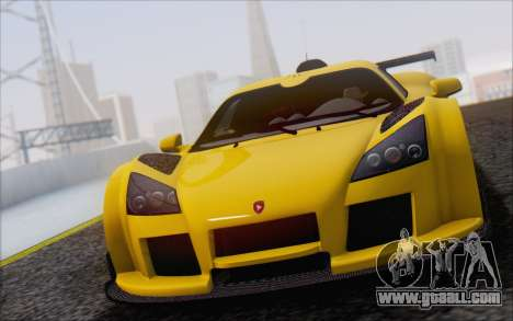 Gumpert Apollo S Autovista for GTA San Andreas
