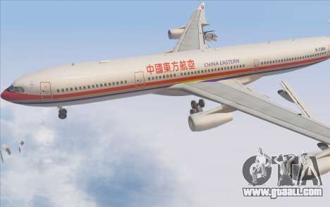 Airbus A340-300 China Eastern for GTA San Andreas upper view