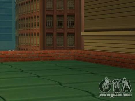 The new depot in San Piero for GTA San Andreas third screenshot
