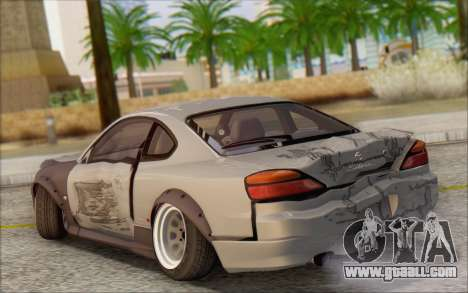 Nissan Silvia S15 Fail Camber for GTA San Andreas upper view