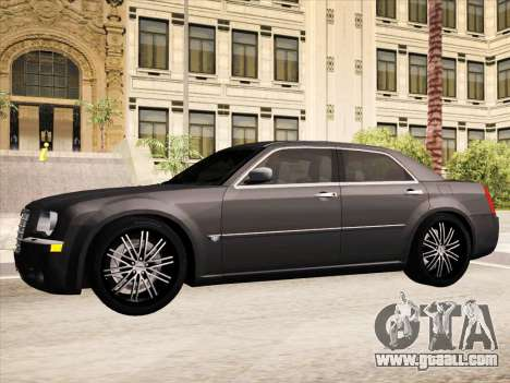 Chrysler 300C 2009 for GTA San Andreas interior
