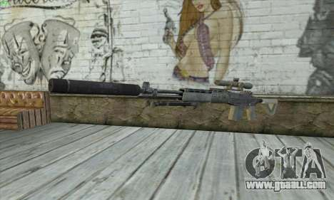 Sniper Rifle из MW2 for GTA San Andreas