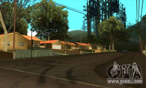 New village Gillemyr v1.0 for GTA San Andreas