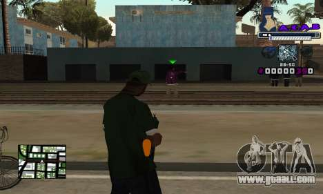 C-HUD SWAG for GTA San Andreas second screenshot