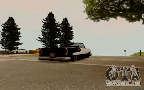 Oceanic Convertible for GTA San Andreas right view