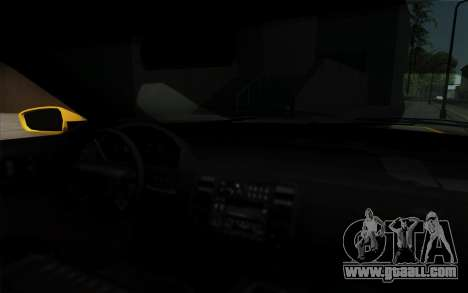 Buffalo Taxi for GTA San Andreas right view