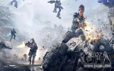 Boot screens and menus Titanfall for GTA San Andreas sixth screenshot