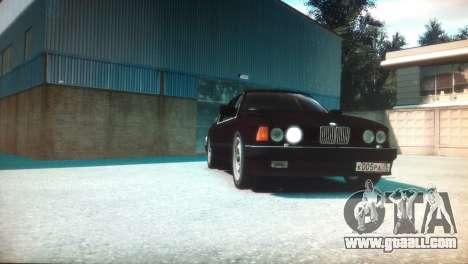 BMW 735iL E32 ver 2 for GTA 4 right view