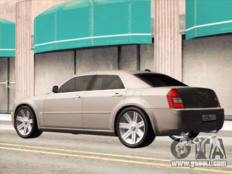 Chrysler 300C 2009 for GTA San Andreas inner view