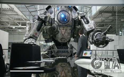 Boot screens and menus Titanfall for GTA San Andreas seventh screenshot