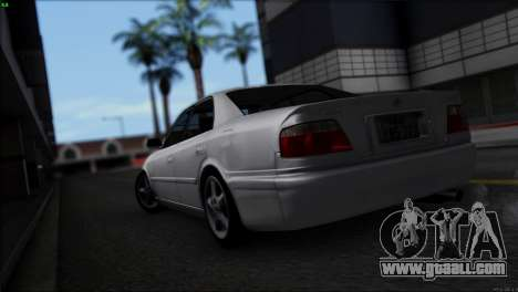 Toyota Chaser Tourer V for GTA San Andreas left view
