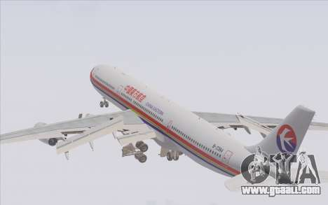 Airbus A340-300 China Eastern for GTA San Andreas engine