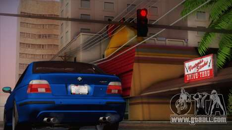 BMW E39 M5 2003 for GTA San Andreas left view