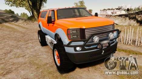 GTA V Vapid Sandking XL wheels v2 for GTA 4