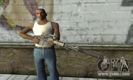 Sniper Rifle из MW2 for GTA San Andreas third screenshot