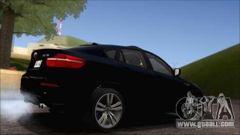BMW X6M E71 2013 300M Wheels for GTA San Andreas side view