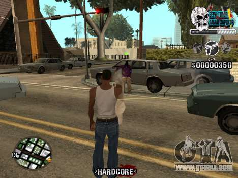 C-HUD Hardcore By KD for GTA San Andreas sixth screenshot