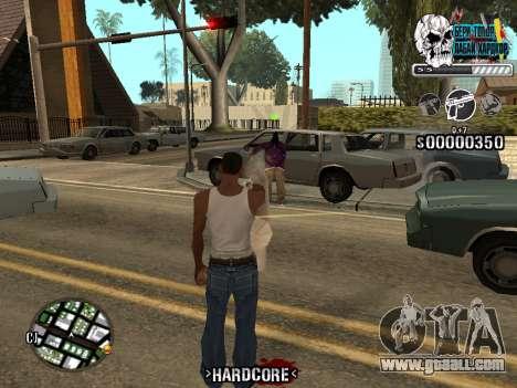 C-HUD Hardcore By KD for GTA San Andreas sixth screenshot