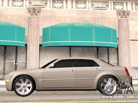 Chrysler 300C 2009 for GTA San Andreas back view