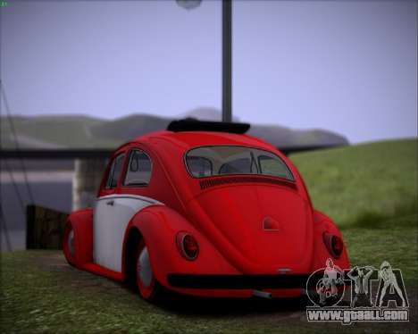 Volkswagen Beetle Stance for GTA San Andreas right view
