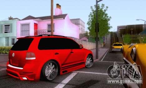 Volkswagen Touareg Mansory for GTA San Andreas inner view