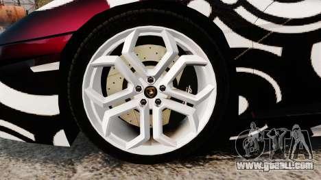 Lamborghini Aventador LP700-4 2012 [EPM] Circle for GTA 4 back view