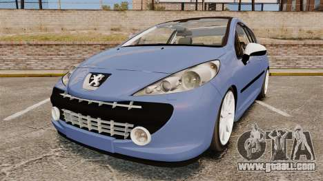 Peugeot 207 RC for GTA 4