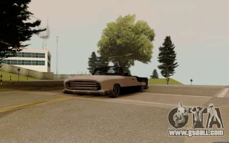 Oceanic Convertible for GTA San Andreas back view