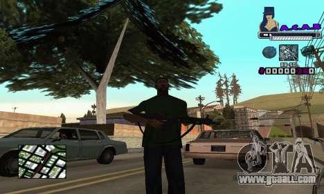 C-HUD SWAG for GTA San Andreas