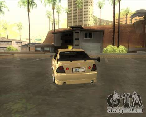 Lexus IS300 Tuneable for GTA San Andreas right view