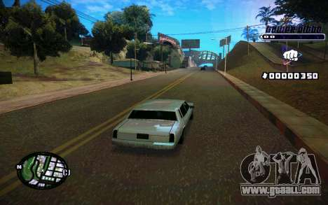 C-HUD Tawer Gitto for GTA San Andreas fifth screenshot