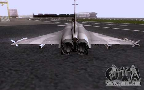 Dassault Rafale M for GTA San Andreas bottom view