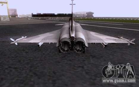 Dassault Rafale M for GTA San Andreas bottom view