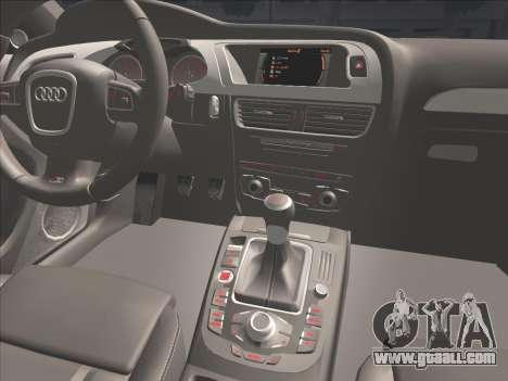 Audi S4 for GTA San Andreas upper view