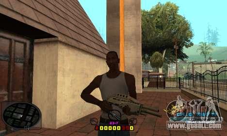 C-HUD Old-Rifa for GTA San Andreas third screenshot