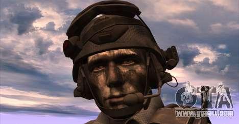 Lt. David Hesh Walker из Call Of Duty: Ghosts for GTA San Andreas fifth screenshot