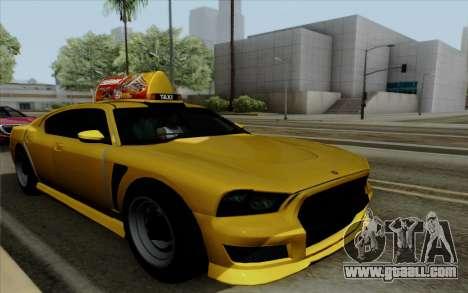 Buffalo Taxi for GTA San Andreas