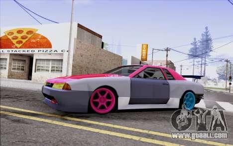 Elegy New Drift Kor4 for GTA San Andreas inner view