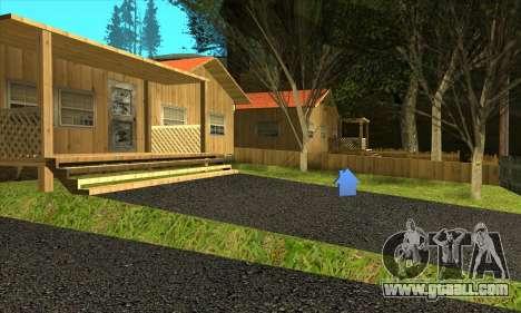 New village Gillemyr v1.0 for GTA San Andreas third screenshot