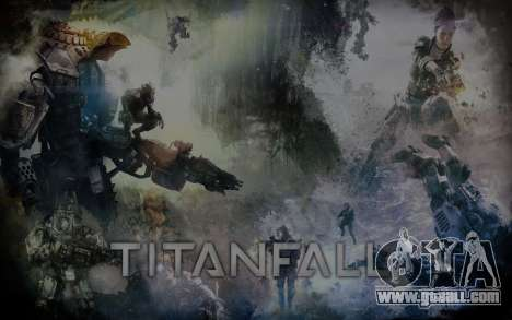 Boot screens and menus Titanfall for GTA San Andreas third screenshot