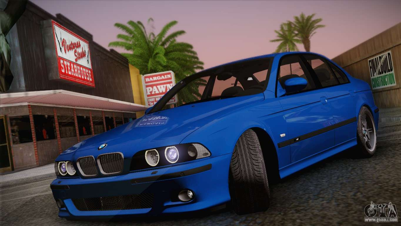 bmw e39 m5 2003 for gta san andreas. Black Bedroom Furniture Sets. Home Design Ideas