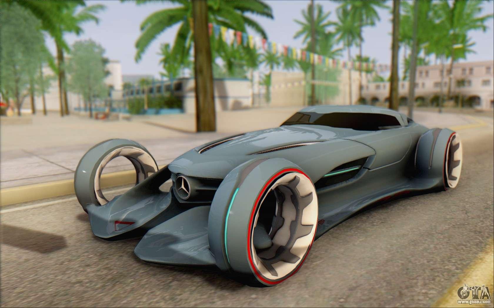 Mercedes benz silverarrow for gta san andreas for Mercedes benz vehicles