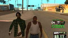 С-HUD Grove Street for GTA San Andreas